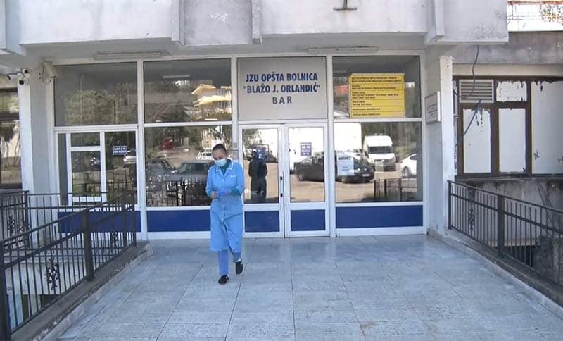 Uveden kontakt telefon za COVID odjeljenje Opšte bolnice u Baru