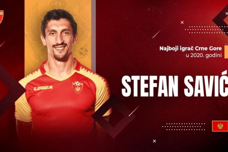 Stefan Savić fudbaler godine