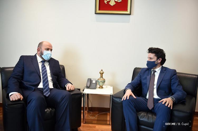 Abazović Sa Fejzićem: Čuvajući međuvjerski sklad jačamo evropsku Crnu Goru
