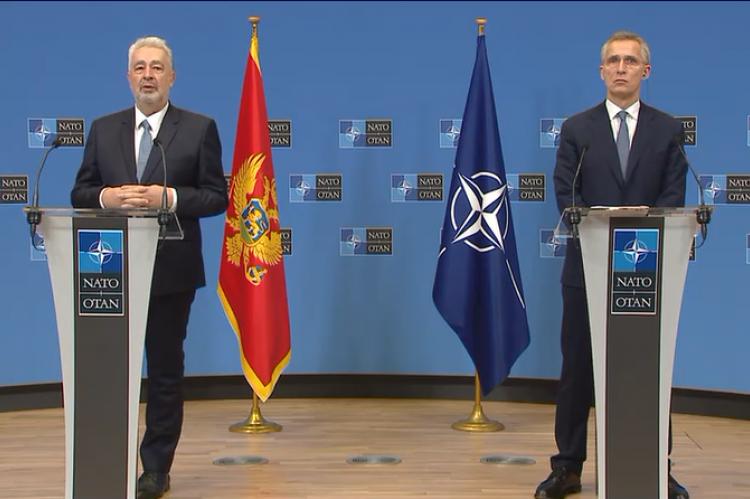 Crna Gora ostaje posvećena članstvu u NATO