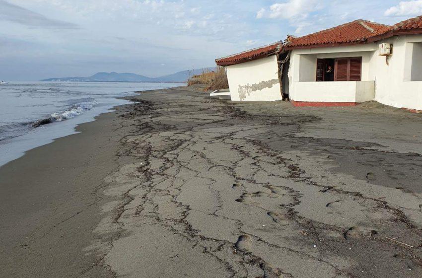 Priroda učinila svoje- pijesak ponovo ispred objekata Rivijere; sjutra počinje i zaštita objekata