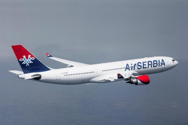 Er Srbija povećala broj letova ka Crnoj Gori