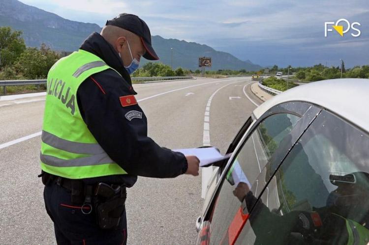 """Akcija policije """" Stop za neregistrovana vozila"""""""
