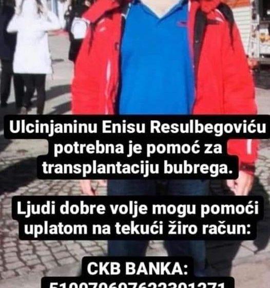 HITNO: Neophodna pomoć za liječenje Enisa Resulbegovića