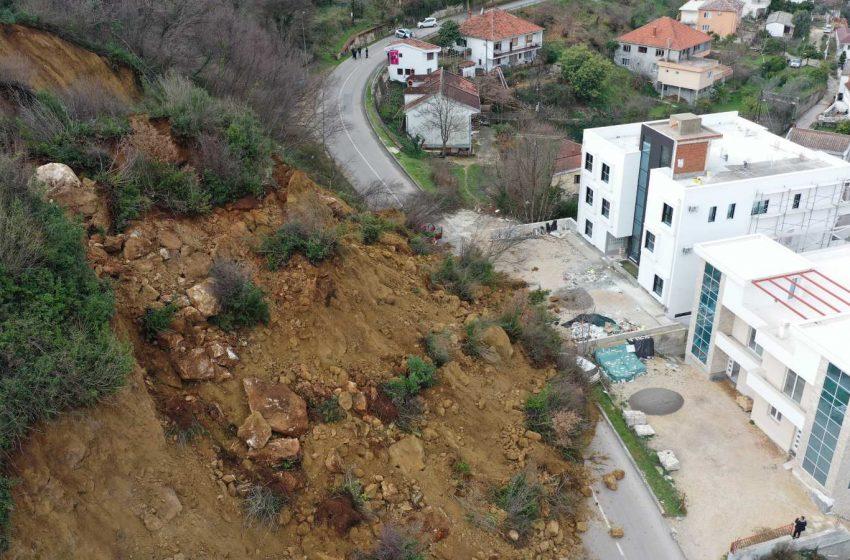 Ulcinjske građevinske firme javile se da očiste odron u Pinješu; Opština čeka mišljenje eksperata