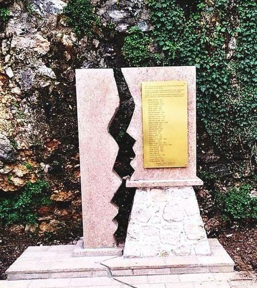 Spomenik žrtvama zemljotresa