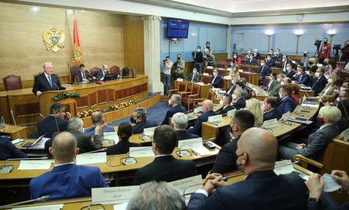 Poslanici danas glasaju o zakonima koje je vratio Đukanović
