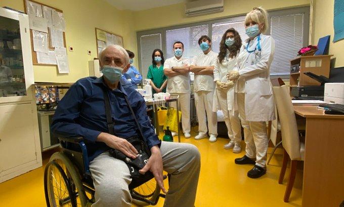 Štićenik Doma u Risnu primio prvu vakcinu u Crnoj Gori