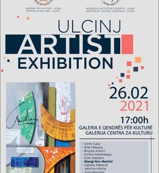 U petak otvaranje izložbe umjetnika iz Ulcinja