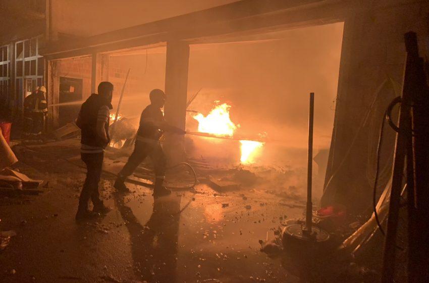 Izgorjela fabrika namještaja Zanus