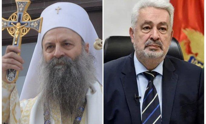 Tanjug javlja: Temeljni ugovor CG i SPC posle Vaskrsa, potpisaće ga patrijarh Porfirije