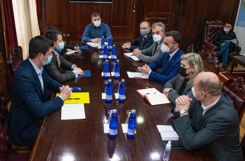 Dabović se sastao sa ministrom ekonomskog razvoja