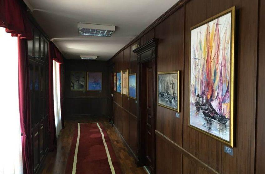 Djela umjetnika izložena u holu Kabineta prvog čovjeka grada