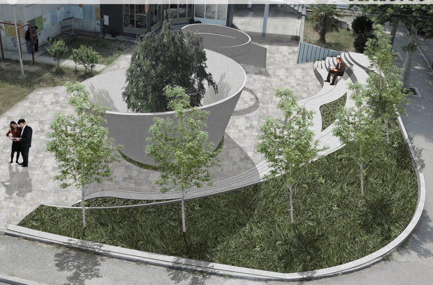 Park ispred Doma kulture uskoro u novom ruhu