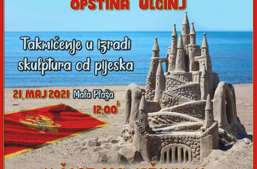 21. maja takmičenje u izradi skulptura od pijeska