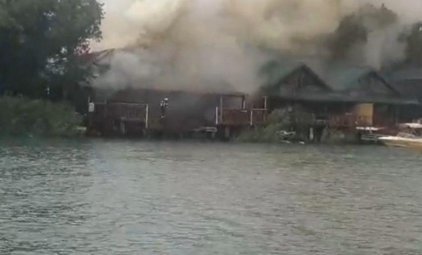 Izgorjele kućice na Bojani zbog elektroinstalacija
