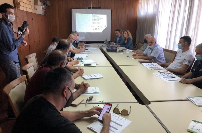 Održana obuka za spriječavanje nelegalnog odlaganja otpada na teritoriji opštine Ulcinj