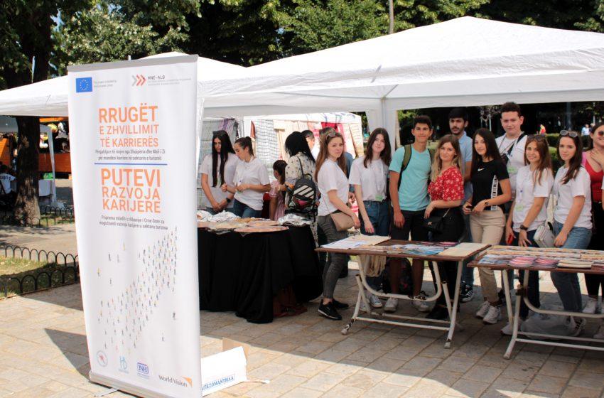 Mladi iz Ulcinja na sajmu u Skadru
