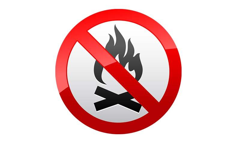 Od danas zabrana loženja vatre na otvorenom