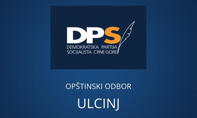 DPS Ulcinj: Zlonamjerni i jeftini spinovi od strane URA ne prolaze kod Ulcinjana