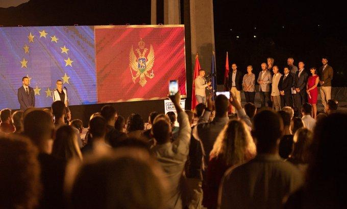 Treći kongres Građanskog pokreta URA u Ulcinju, Abazović ostaje predsjednik