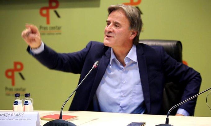 Blažić: Kad padne premijer – pada Vlada