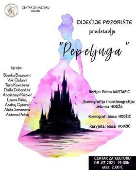 Predstava Pepeljuga večeras u Centru za kulturu Ulcinj