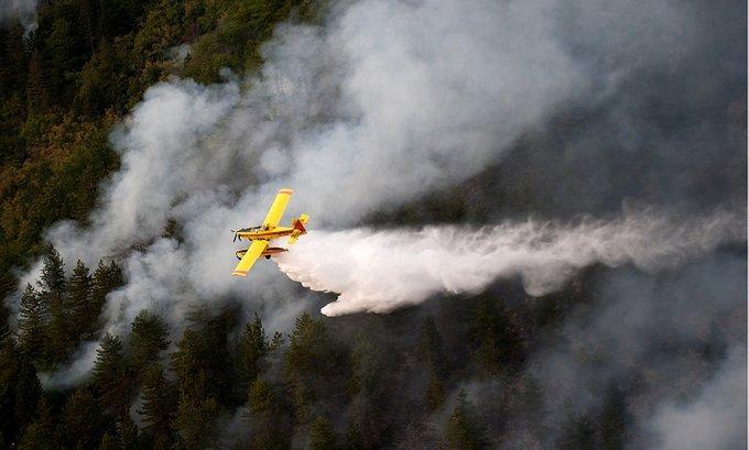 Za gašenje požara dostupan samo jedan avion