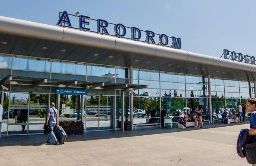 Promet turista na crnogorskim aerodromima svega 36 odsto u odnosu na 2019. godinu