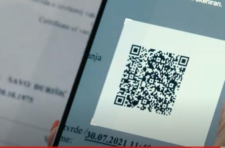 Sekulić: Dostupne digitalne kovid potvrde