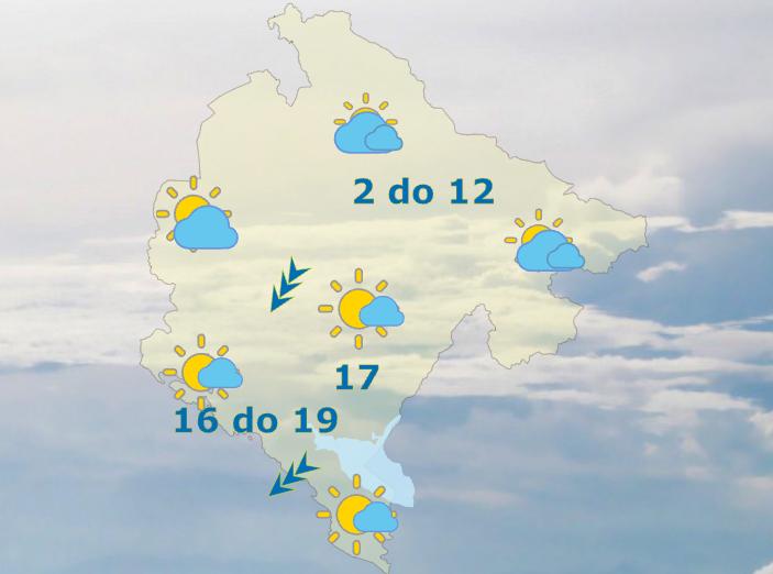 Sjutra oblačno sa sunčanim intervalima