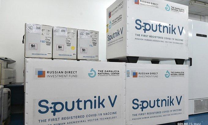 U Crnu Goru stiglo 40 hiljada doza vakcina Sputnjik V